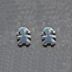 Pendientes de plata de la colección de joyas artesanales Yocari para PlataScarlata  PE1647PP