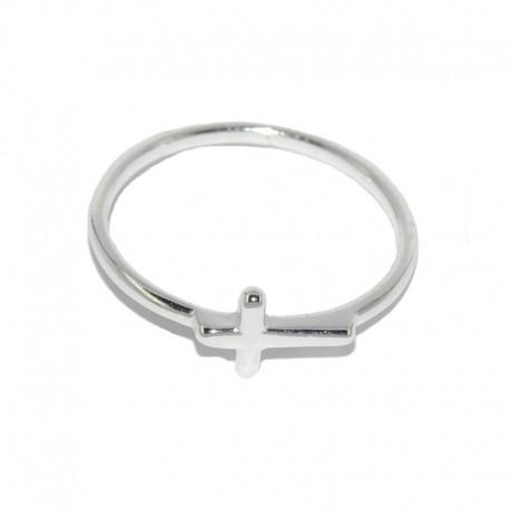 Anillo de plata de la colección de joyas mujer The Essentials para la joyería online PlataScarlataTEP51007