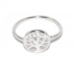 Anillo de plata árbol de la vida de la colección de joyas de plata para mujer The Essentials TEP51022
