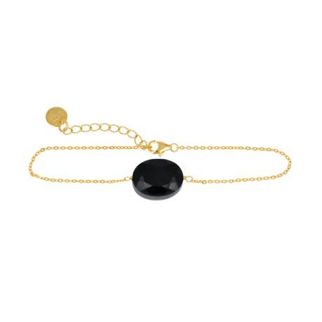 Pulsera de  plata baño oro de la colección de joyas de plata para muer Luxenter para la joyería online PlataScarlata