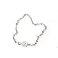 Gargantilla eslabones de Rodio de la colección de joyas oficial de la serie  VELVET para la joyería online PlataScarlata