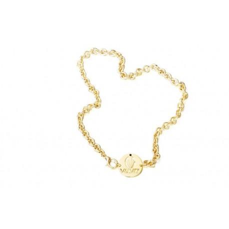 Gargantilla baño oro de la colección de joyas oficial de la serie de TV VELVET para la joyería online PlataScarlata