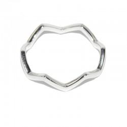Anillo de plata de corona de la fira de joyas de plata para mujer The Essentials TEP51012