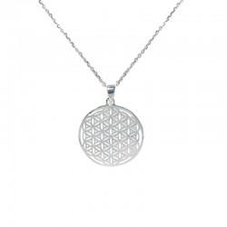 Colgante de plata La flor de la vida The Essentials para la joyería online PlataScarlata TEP52002