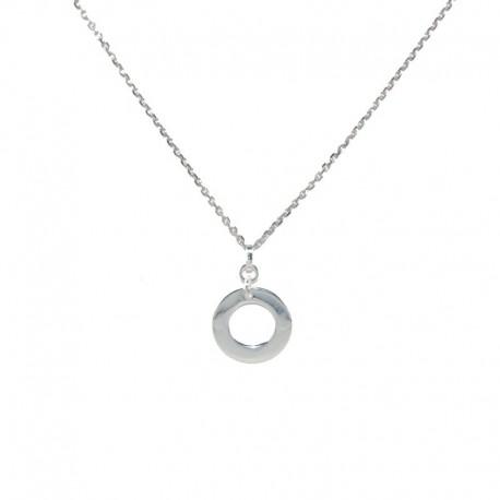 Colgante de plata círculo de la vida de la colección de joyas para mujer The Essentials TEP52004