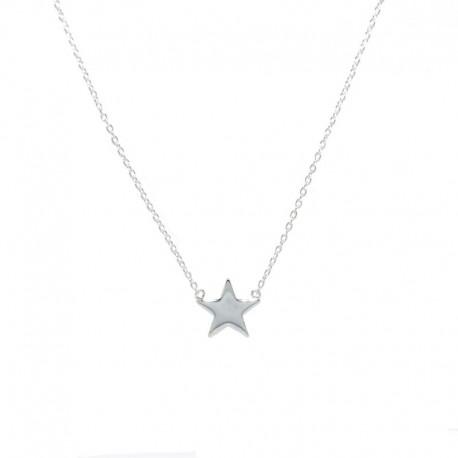 Colgante de plata con estrella de la colección de joyas de plata The Essentials para la joyería online PlataScarlata TEP52006